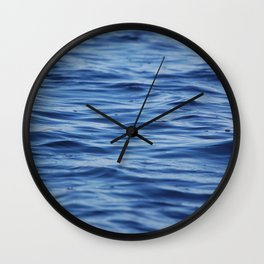 River Ripples Wall Clock