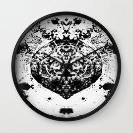 Merry Krumpus Wall Clock