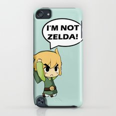 I'm not Zelda! (link from legend of zelda) iPod touch Slim Case