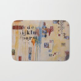 """Falling into Place"" Bath Mat"