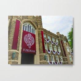 Keating Hall at Fordham University Commencement  Metal Print