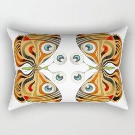 four eyes butterfly (ORIGINAL SOLD). Rectangular Pillow