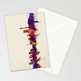 Johannesburg South Africa Skyline Stationery Cards