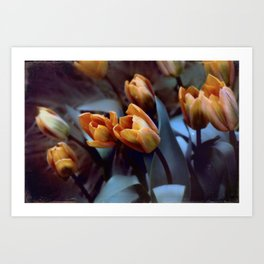 Tulips with Attitude Art Print