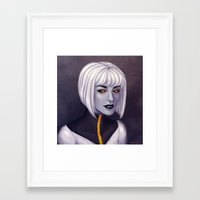 android Framed Art Prints featuring Android by twinklepowderysnow