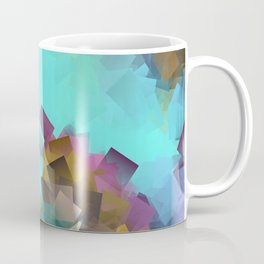 little sqares and rectangles pattern -17- Coffee Mug