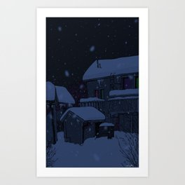 neighborhoods Art Print