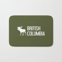 British Columbia Moose Bath Mat