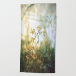 Forest Flowers Beach Towel