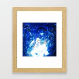 Bubble Aura Framed Art Print