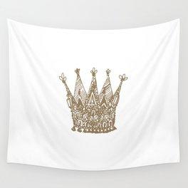 Royal Crown Wall Tapestry