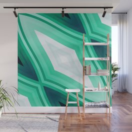 stripes wave pattern 6v3 ori Wall Mural