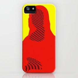 Mona, nu mach aber mal ein Punkt · 4 iPhone Case