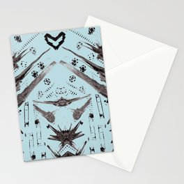 Hand Made Print 1 Stationery Cards