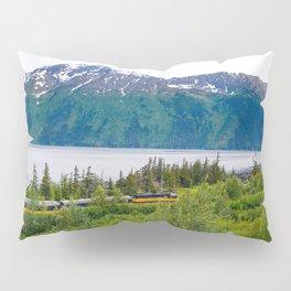 Alaska Passenger Train - Bird Point Pillow Sham