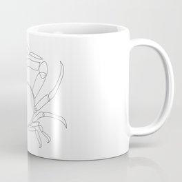 crab - one line art Coffee Mug