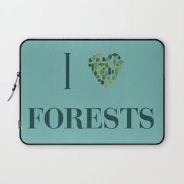 I heart Forests Laptop Sleeve