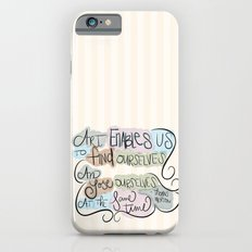 Art Enables Us Slim Case iPhone 6s