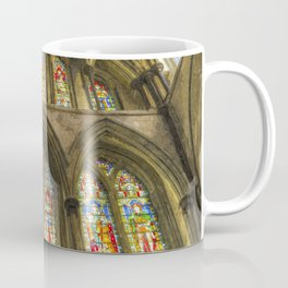 Rochester Cathedral Stained Glass Windows Art Coffee Mug