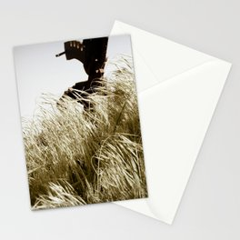 Tall Grass in the Wind Stationery Cards