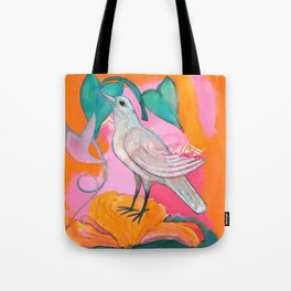 Song of the Dove Tote Bag