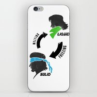 metal gear iPhone & iPod Skins featuring Metal Gear: Solid Liquid States by Bendragon