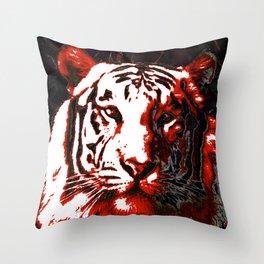 Ty- Grrr Throw Pillow