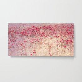Fields of poppies Metal Print