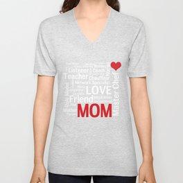 World's Best Mom Unisex V-Neck