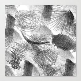 Draw Canvas Print