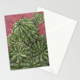 mexican cactus Stationery Cards