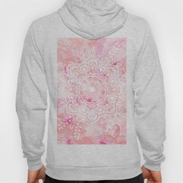 Queen Starring of Mandalas-Rose Hoody