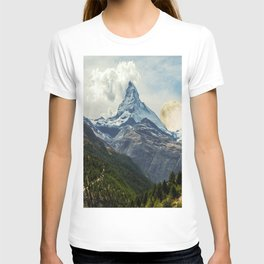 Wander trip sets the Moon T-shirt