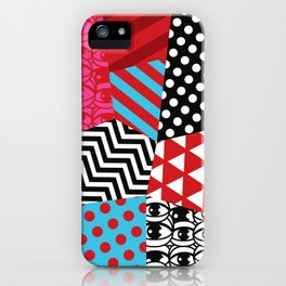 pattern bonanza iPhone Case