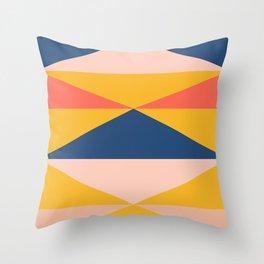 Minimal Southwestern Summer Throw Pillow