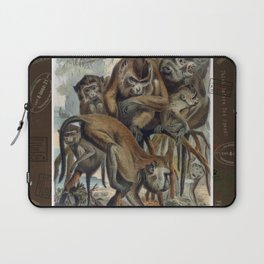 Macaques for Responsible Travel Laptop Sleeve