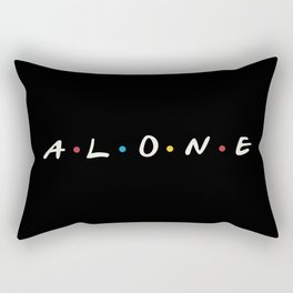 Alone Rectangular Pillow