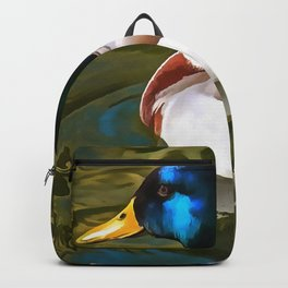 The Son Of A Duck Is A Floater Backpack