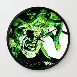 Clash of the Titans: Medusa Wall Clock