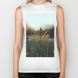 Daisy Meadow in Yosemite Biker Tank