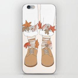Autumn Walks iPhone Skin
