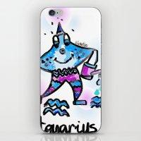 aquarius iPhone & iPod Skins featuring Aquarius  by sladja
