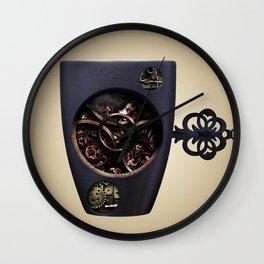 The Mechanic Coffee Wall Clock