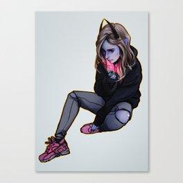 Night glow Canvas Print