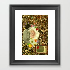 it's alive, it's alive! Framed Art Print