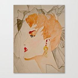 Fashion Watercolor  Canvas Print
