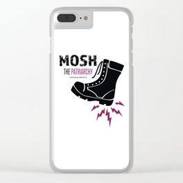 MOSH the Patriarchy Clear iPhone Case