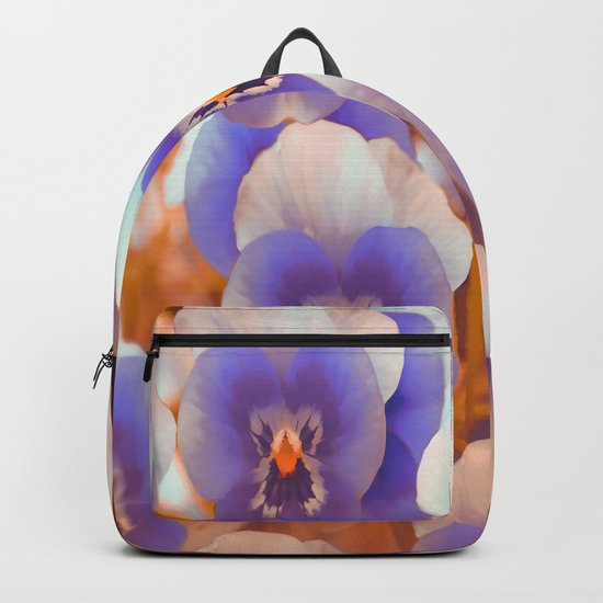 Violets in late summer Backpack