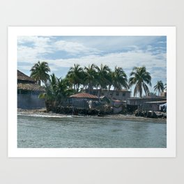 The Haitian Shore Art Print