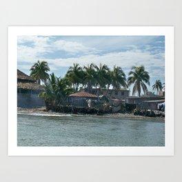 The Haitian Shore Art Print